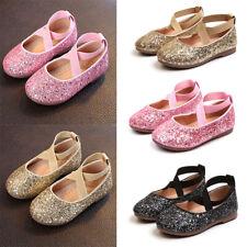 Toddler Girls Kid Ballet Dance Split-Sole Fashion Slipper Shoes  Princess Sandal