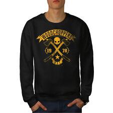 Bois Choppers Vintage Hommes Sweatshirt NOUVEAU | wellcoda