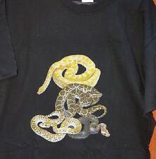 Burmese Python Snake T-Shirt Child sizes.  Burm Reptile FREE POST