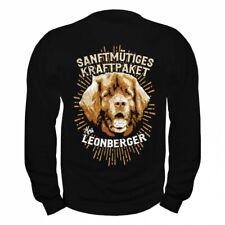 Pullover Sweatshirt Leonberger - Sanftmütiges Kraftpaket hunde dogs rasse zucht