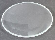 Verre de rechange PLAT neuf pour montre  -choix du Diamètre- EPAISSEUR 1 MM