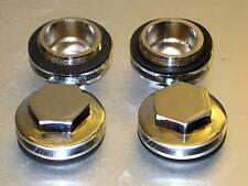71-2744 Triumph rocker tappet caps 650 1963 - 1970 rocker box valve adjust cover