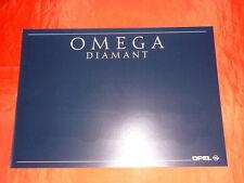 """OPEL Omega A """"Diamant"""" Sondermodell Prospekt von September 1990"""