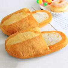 Men Women Warm Slippers Baguette Bread Soft Lovers Indoor Home Shoes Anti-Slip