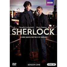 Sherlock: Complete Series 1 (2010, 2 DVD Set) sealed new BBC TV