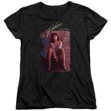 Flashdance Title Womens Short Sleeve Shirt
