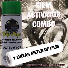 Hydrographic Film Combo Fish X-Rays Bones Dip Ape Activator Water Transfer