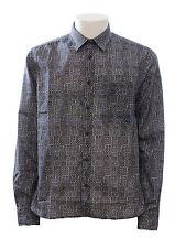 Camicia da uomo North Sails manica lunga fantasia cotone casual