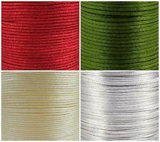 2.5mm Seide Seil, Ratten Schwanz Band, wähle Farbe & Länge, artikelnr.: 484