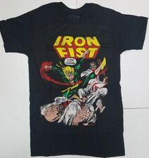 Marvel Comics Iron Fist vintage style graphic Mens T-Shirt
