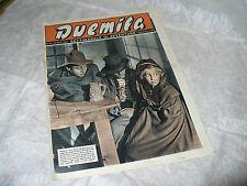 DUEMILA SETTIMANALE DI AVVENTURE N.42 1951 RARA RIVISTA FOTOROMANZI CICLISMO