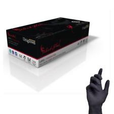 Unigloves Select nero LATTICE Tatuaggio Guanti - non talcato - CONF DA 100 1000