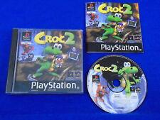 ps1 CROC 2 Playstation Game Boxed PAL ps2 ps3
