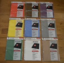 Ultimate Guard 18-Pocket Pages Side-Loading 10 Seiten für 180 Karten Neu & OVP