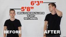 Height Plus Herbal Increase Height Gain Taller Herbal Grow{BUY 3 LOTS GET1 FREE}