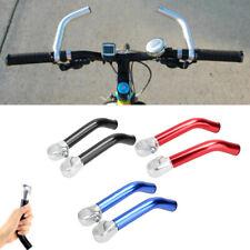 2Pcs Aluminum Alloy MTB Road Bicycle Handlebar Bar Ends 22MM Cycling Mirror H3G4