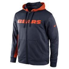Men's Nike Chicago Bears NFL KO Full-Zip Hoodie NEW WITH TAGS 538431 459 RTL $85