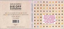 Maps Of Norway - Die Off Songbird - Rare Radio Promotional CD - 1205