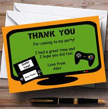 Computer Video Giochi per console Personalizzati Festa di Compleanno CARTOLINE di ringraziamento