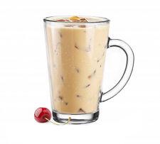 6 Latte Macchiato Gläser 300 ml mit Henkel Kaffeegläser Teegläser 9 VARIANTEN