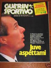 GUERIN SPORTIVO 1986/4 MUNDIAL CALCIO URUGUAY 34 JUVE *