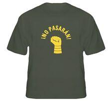 NO PASARAN None shall pass PROTEST MG T Shirt