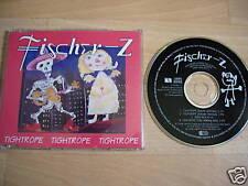 FISCHER-Z Tightrope EUROPEAN CD single fisher