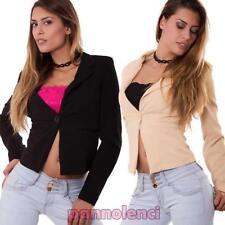 Chaqueta de mujer alivio manga larga correas chaquetón nueva AS-3163-1