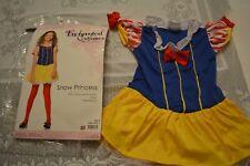 Halloween Enchanted Girls Costumes Disney Snow White Princess Dress S or M