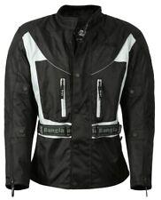 Bangla Motorradjacke Motorad Jacke Textil Schwarz Grau Tourenjacke M - 7 XL