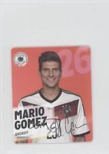 2014 Rewe Team Germany DFB-Sammelkarte #26 Mario Gomez Rookie Soccer Card