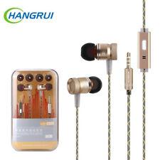 D'origine G63 en métal basse écouteurs Microphone Stéréo Basse écouteurs pour