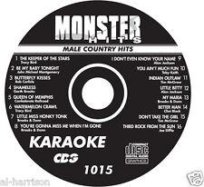 KARAOKE MONSTER HITS CD+G MALE COUNTRY HITS #1015