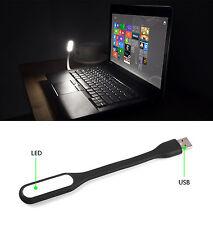 Flexible USB LED Light Lamp 4 Computer Keyboard Study Reading Notebook Laptop PC