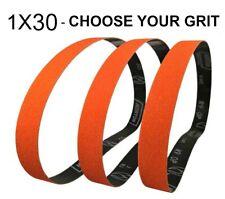 Norton SG Blaze Plus-1x30 Long Lasting Ceramic Belts - Choose Your Grit or Pack