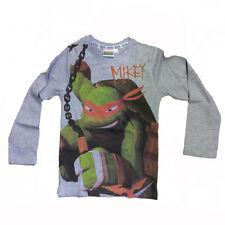 TORTUGAS NINJA MUTANTE ADOLESCENTES suéter de manga larga de algodón gris