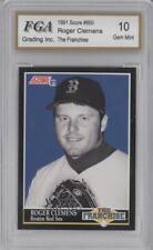 1991 Score #850 Roger Clemens Boston Red Sox Baseball Card