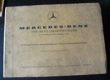 Mercedes Motoren OM352 Ersatzteilliste z.B. Claas