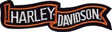 Harley Davidson Modelo Parche Agitando Bandera Tamaño aprox. 10,3 cm de 2,2 cm