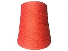 Wool Yarn on Cone - Salmon - Brown Sheep Nature Spun - Fingering Weight