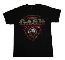 JOHNNY CASH - Guitar Pic - T SHIRT S-M-L-XL-2XL New - Official T Shirt
