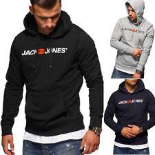 JACK & JONES Kapuzenpullover Hoodie Pullover Sweatshirt Schwarz/Grau/Navy NEU