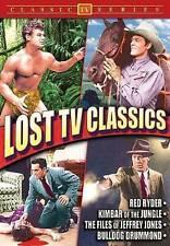 Lost TV Classics: Red Ryder / Kimber of The Jungle / Files of Jeffrey Jones / Bu