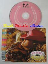 CD Singolo MADONNA Music WARNER BROS 2000 GERMANY 9362 44898 2 no 0mc lp dvd S5