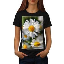 CAMOMILLA FOTO NATURA T-shirt donna S-2XL NUOVO | wellcoda