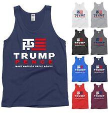Trump Pence 2016 Tank Top Make America Great Again Donald Election Shirt - NEW