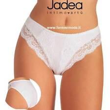6 Slip donna Jadea in cotone-modal con inserti in pizzo elasticizzato art 529