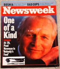 Newsweek 1994 Paul Newman Bosnia Bill Clinton Russia