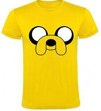 Camiseta Hora de Aventuras Jake cara  Hombre varias tallas a032