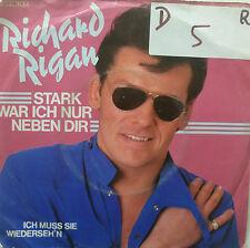 """7"""" 1983 Richard Rigan fortemente ero solo accanto a te MINT -"""